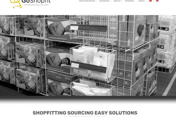 Webseite goshopfit.com