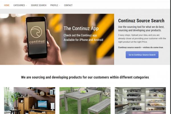 Webseite continuz.com