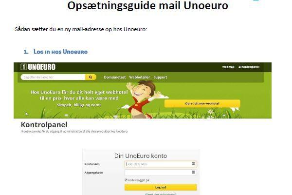 Einrichten neuer E-Mail-Konten